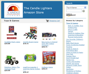 Candle Lighters Amazon Store